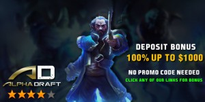Alpha Draft Promo Code